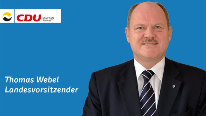 Thomas Webel Landesvorsitzender