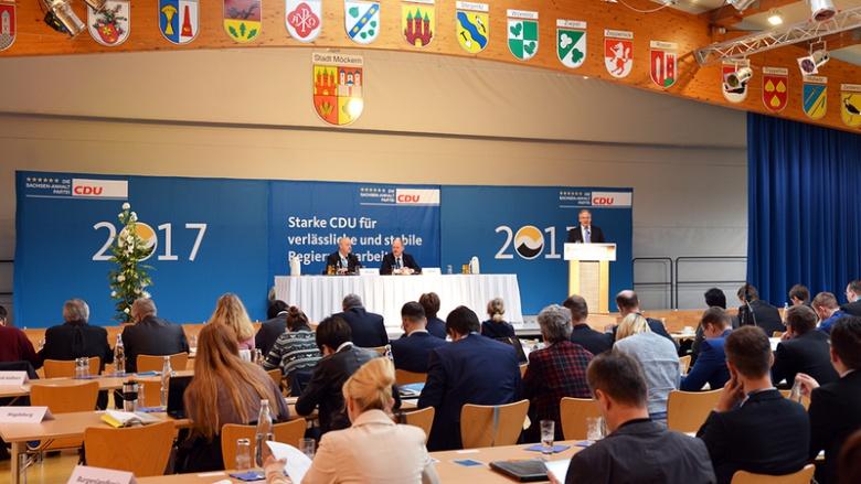 CDU stellt Landesliste für den Deutschen Bundestag auf