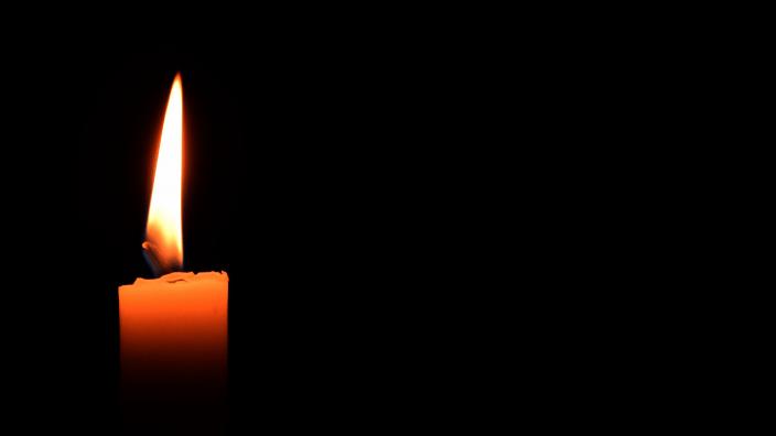 Kerze Trauer