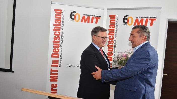 Detlef Gürth und Dr. Gunter Schellenberger